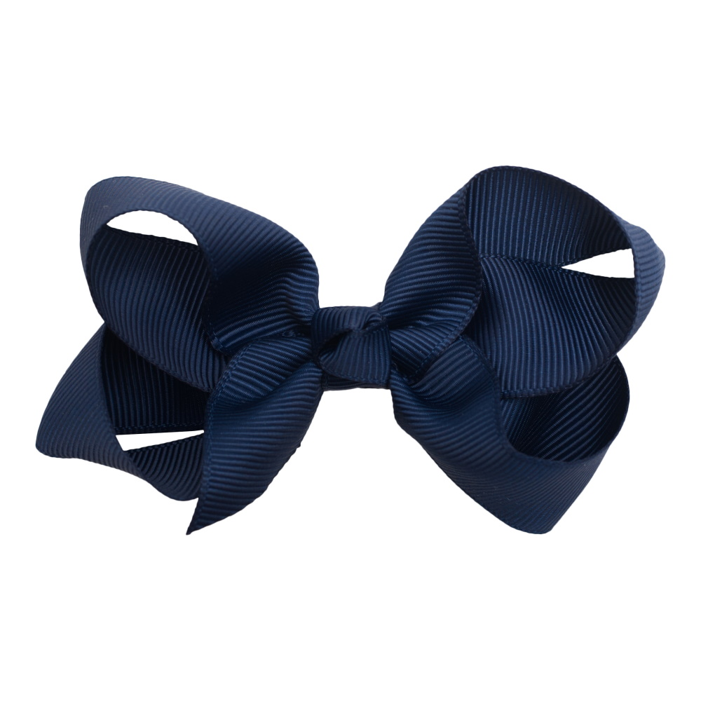 Little Wonders Sløjfe 8 cm, Grosgrain, Navy