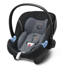 Cybex Aton M i-Size, Pepper Black